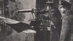 Подготовка к обороне Варшавы