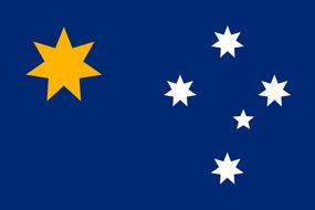 Флаг Австралии без БФ