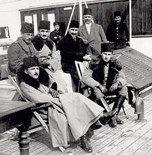 Энвер-паша на фронте