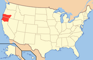 Map of USA JF