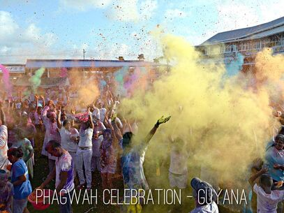 Phagwah celebration Guyana