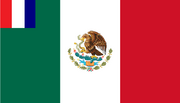 Flag of French Mexico