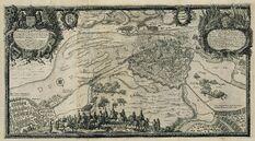 The siege of Riga 1650