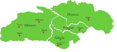 Baltistan mapa
