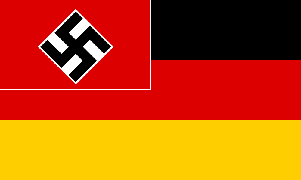 image flag of south germany yell 1936 png alternative history