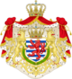 Greater coat of arms of the grand-duchy of Luxembourg