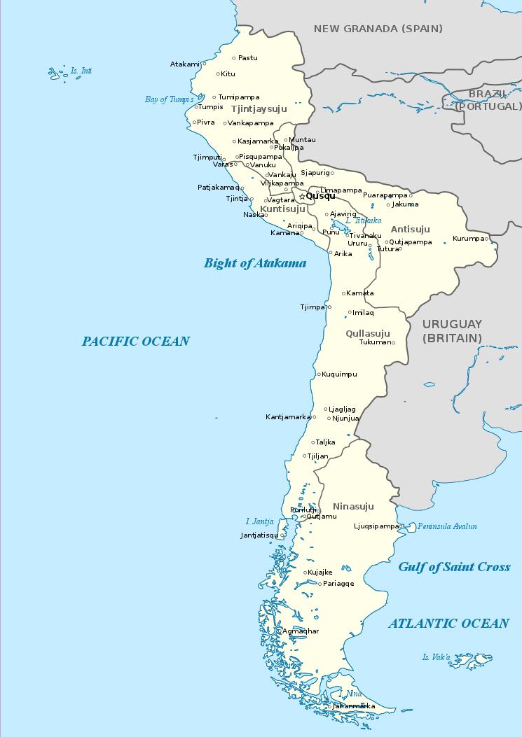 Image - Map of Peru 1800.png | Alternative History | FANDOM powered ...
