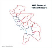 Map of Tahuantinsuyo (Russian America)