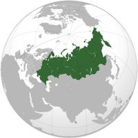 Карта России в МВЛжI