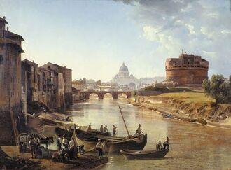 Рим в 1820-е