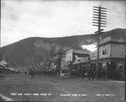 First Avenue, Dawson, June 10, 1904 (AL+CA 1377)