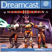 Quake III Arena front cover
