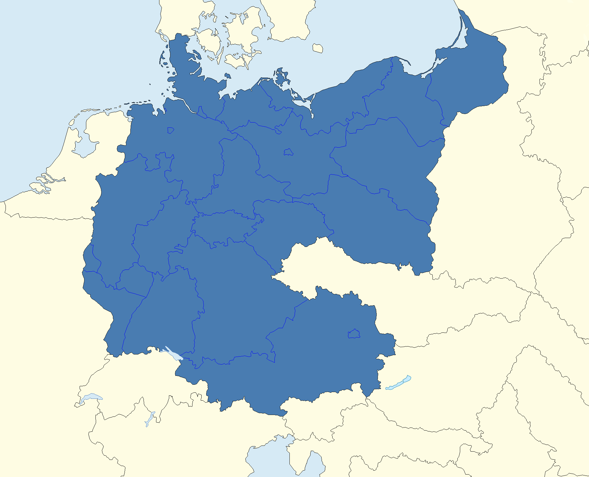 cv map of germany 1945 1991png