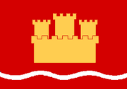 Flag of Margirhaedeyja Fylk (The Kalmar Union)