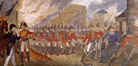 The-War-of-1812-British-forces-burning-Washington-D-C-1814