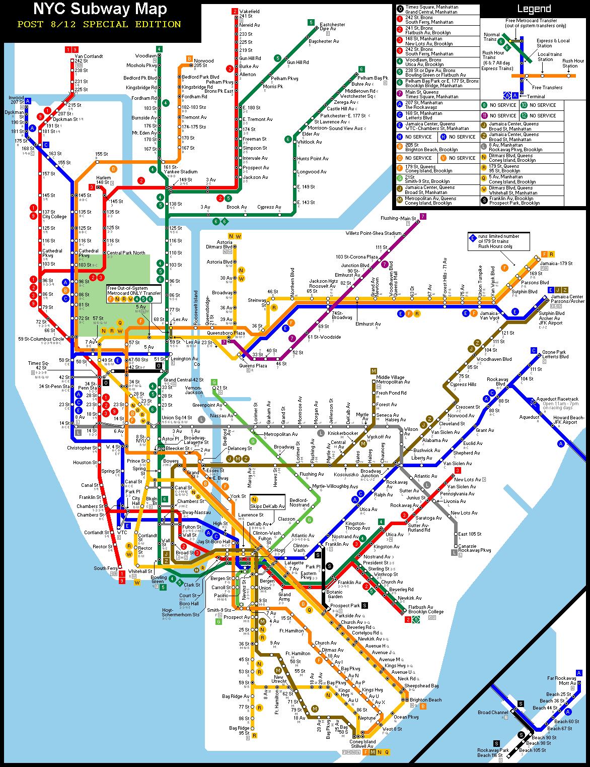 Nyc Subway Map History Smoothoperators