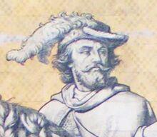 Dresden Fuerstenzug Friedrich der Gebissene