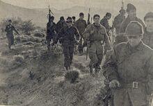 Soldados Argentinos Marchan