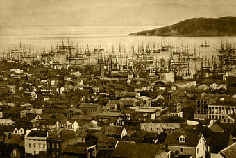 Сан-Франциско в 1851