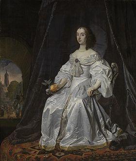 280px-Maria Stuart als weduwe van Willem II Rijksmuseum SK-A-142