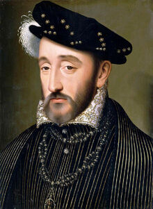 Henry II of France.-0