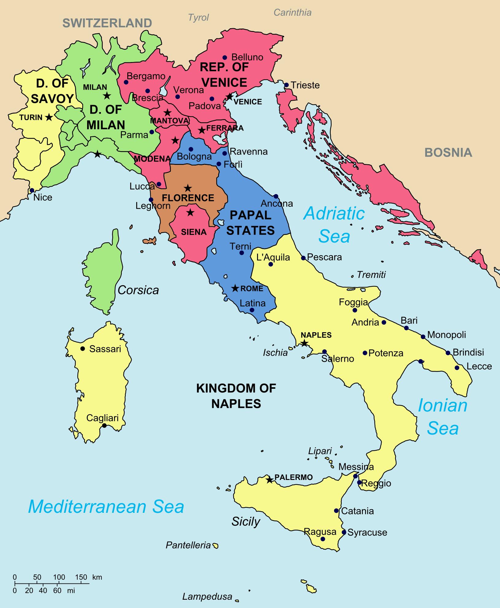italian league principia moderni ii map game