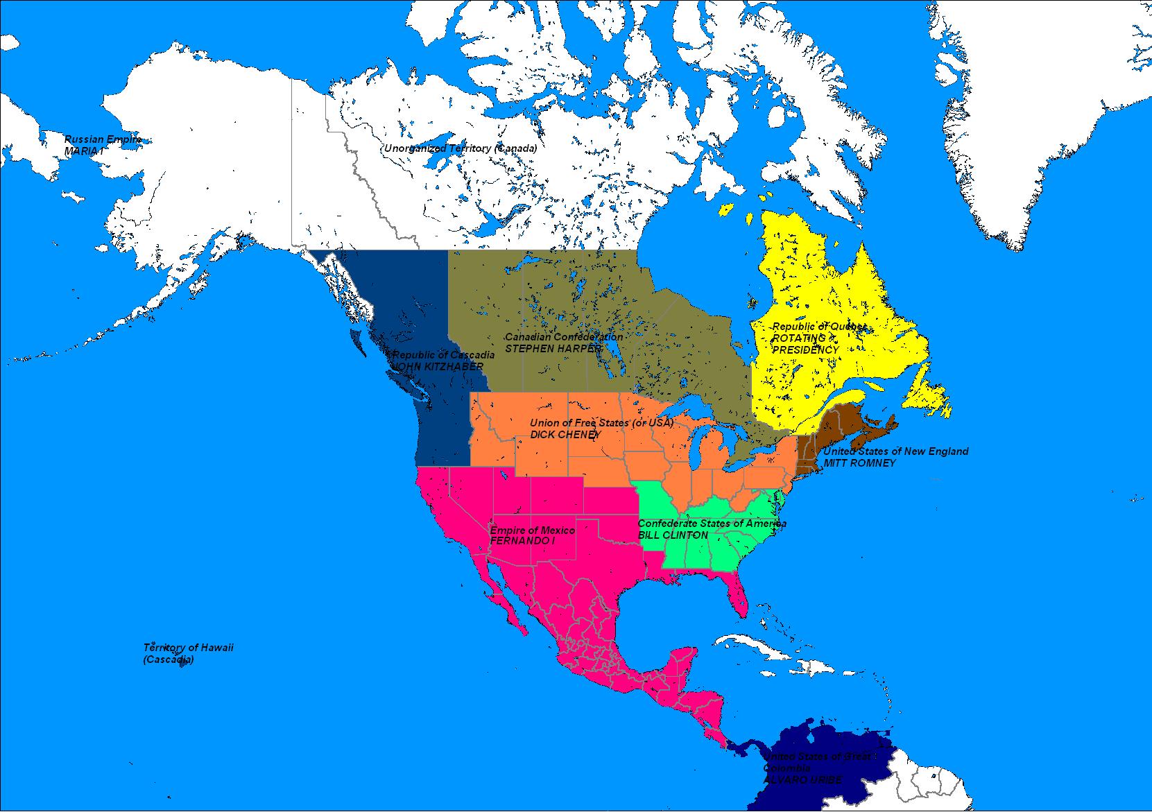 Maps (Mexican Empire) | Alternative History | FANDOM powered by Wikia