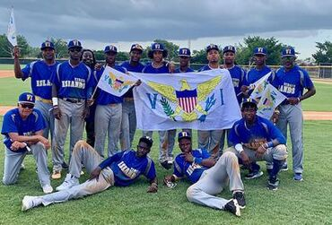 The USAR Eagles after a victory in Santo Domingo