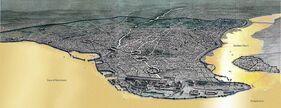Константинополь сверху