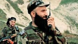 Шамиль Басаев после начала боев