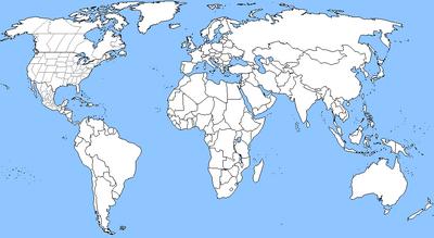 Base Map For Timelines