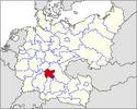 CV Map of Franconia 1945-1991