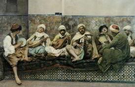 Harem-Musicians-by-Gustavo-Simoni