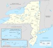 Map of New Netherland (13 Fallen Stars)