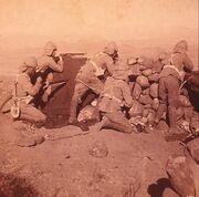 Royal Welsh Army Sanger - Battle of Carmarthen