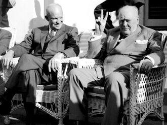 Айк и Черчилль