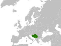 Карта Югославии (ЮЭ)