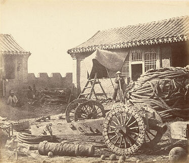 A Pehtang Fort in 1860