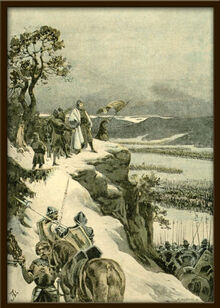 Adolf Liebscher - Jiri z Podebrad nad obklicenymi vojsky