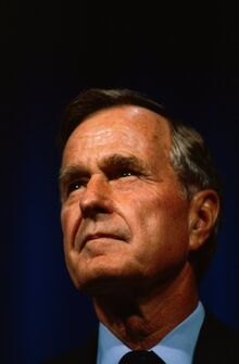George HW Bush Oct 1 1993 Houston