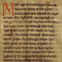 Codex Holmiensis CE 1350
