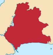 Mapa del Distrito Federal de Bolivia (Panamá) (EUH)