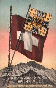 Zur Erinnerung an den Besuch des Kaisers Wilhelm II in der Schweiz September 1912 1