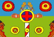 Cahokian Civilisation Flag
