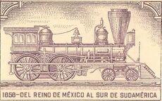 Eisenbahn1858MexikoZentralamerikaGroßkolumbien