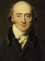 George Canning by Richard Evans - detail