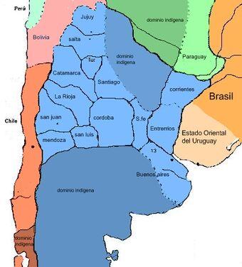 Primera Confederación Argentina (Presidente Portales) | Historia ...