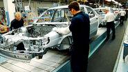 Saab factory Sweden