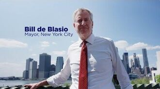 Working People First - Bill de Blasio 2020