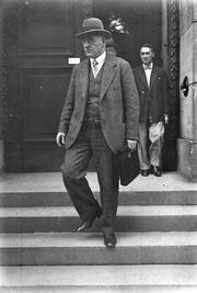 Рейхспрезидент Германии Отто Браун